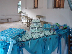 Blue and white theme for baby boy baptism (Hey Liz!) Tags: cupcakes baptism blueandwhite
