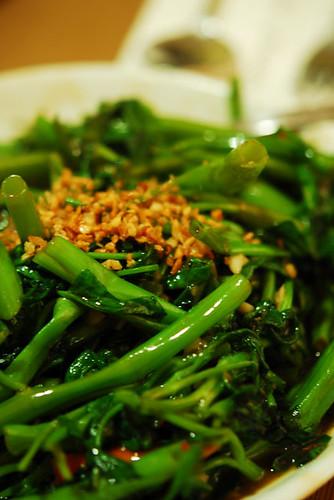Stir fried kangkong with shrimp paste - DSC_2726