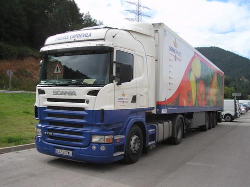 Scania a Ripoll (Girona)