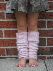 Pickles - Little Girl Leg Warmers