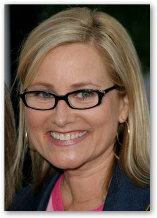 Maureen McCormick with Glasses