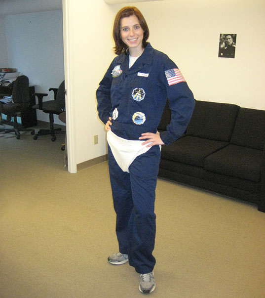 Crazy Astronaut Lady Diaper (page 2) - Pics about space