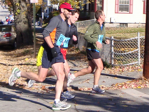 Me, Marty, and Dan at Mile 8