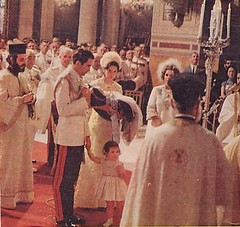 Baptism Crown Prince Pavlos of Greece on the 29th of June 1967 in Athens' Cathedrale (royalist_today) Tags: birthday greek king kingdom prince queen baptism constantine greece monarch annemarie rey 1967 re crownprince reine heir royalty monarchy throne constantinos sovereign royalfamily pavlos königin koningin frederica koning hellenes basileos forconstitutionalmonarchy βασιλεωσ