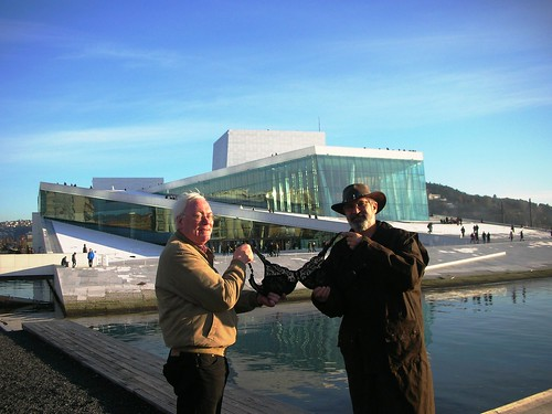 Olga at Oslo New Opera House #1