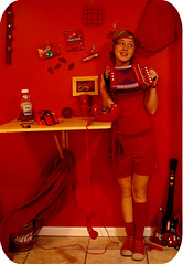 I am red today, (scary jerry girl) Tags: red portrait bus ice me leaves playground self ball scarlet toy leaf day phone heart ketchup cola guitar nintendo like clip cube hero chip tray catsup 365 mad accordian controller today coca hopping doritos n64 292 365days