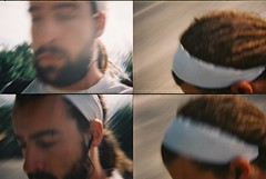 foto rpida barbas (David Martnez galera fotogrfica) Tags: beard lomography yo movimiento actionsampler dread dreadlock rastas lomografia barbas