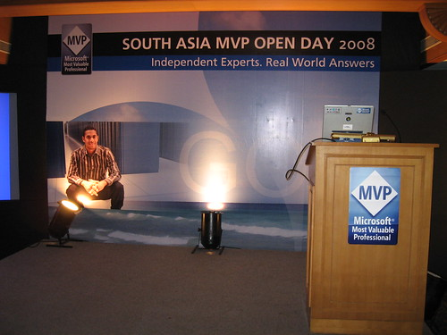 South Asia MVP Open Day 2008 by baxiabhishek.