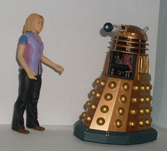 Rose meets the Dalek creature