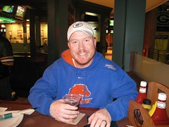 Me at Curly's Pub