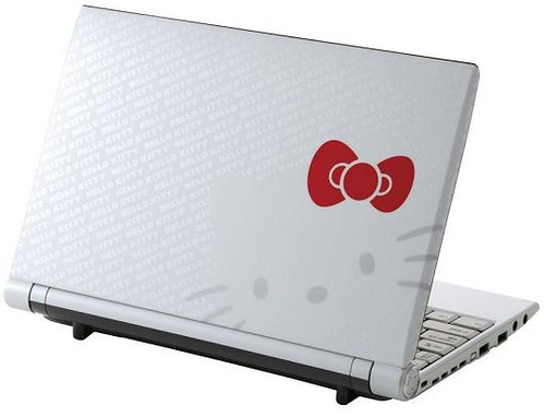 Hello Kitty Limited Edition C1 Netbook