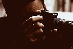 "Shooting ""Canons""... (SonOfJordan) Tags: camera portrait blur canon eos mood oldstyle bokeh amman jordan xsi 450d  samawi sonofjordan shadisamawi  wwwshadisamawicom"