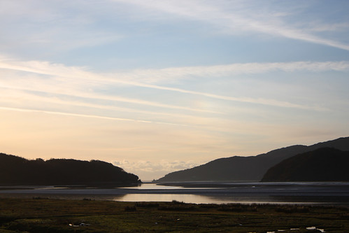 Sunset over the Mawddach