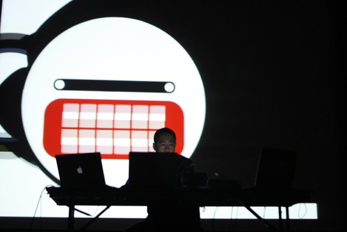 Vj performance Pictoplasma NYC
