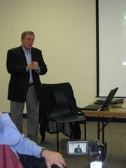 Energy Efficiency Expert Glenn Cannon answers questions at Richmond event