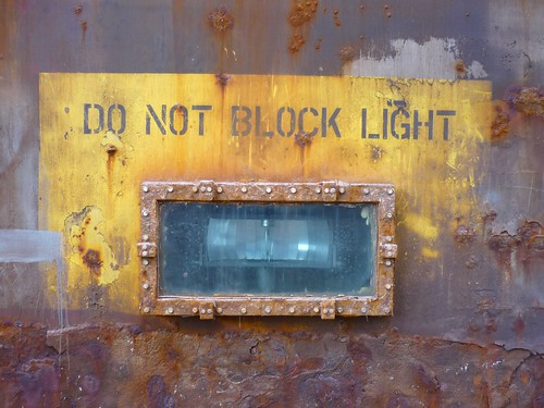 Do Not Block Light