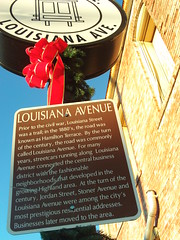 Red Bow Louisiana Avenue