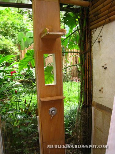 open shower room