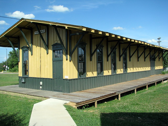 Hohenwald, TN Train Depot
