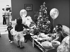 Navarik kids' Christmas 3 (Derek K. Miller) Tags: santa christmas xmas blackandwhite bw tree film vancouver kodak christmastree christmasparty santaclaus xmastree xmasparty bw400cn navarik
