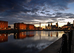 Salthouse dock, Liverpool (Mr Grimesdale) Tags: reflection night liverpool olympus albertdock merseyside e510 mrgrimsdale stevewallace salthousedock europeancapitalofculture2008 pfogold pfosilver mrgrimesdale