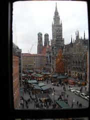 Marienplatz Square seen from Toy Museum