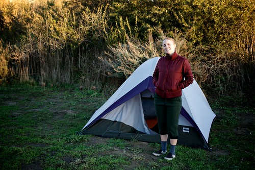 Meghan At Our Gaviota State Park Camp Site