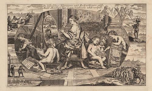 007-El gremio de los vendedores de humo de tabaco pintando en Mississippi con los restos del tesoro Frances.