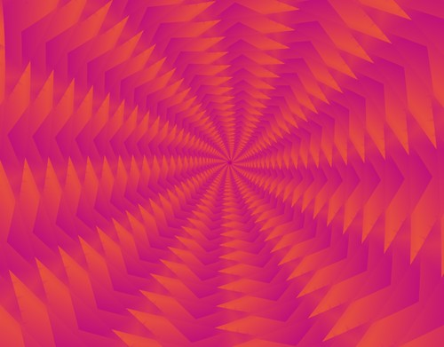 Triangle Fractal Illusion