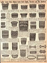Vintage Sears Catalog (HA! Designs - Artbyheather) Tags: vintage fun early bars cross sears funky jewelry pins ephemera catalog 1900s combs
