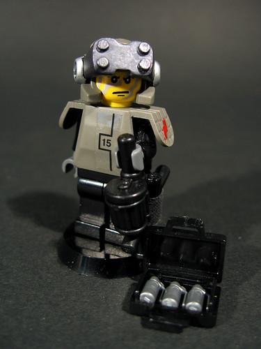 Precision Demolition custom minifig