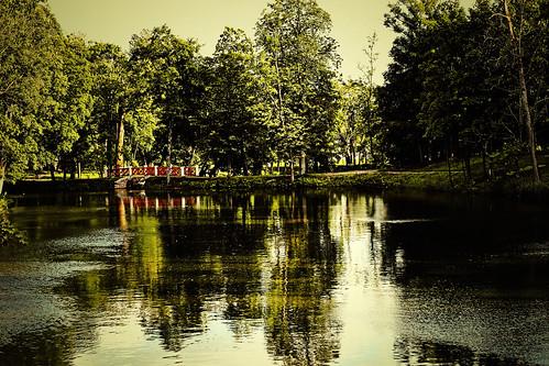 Plungės parkas - Tvenkinys