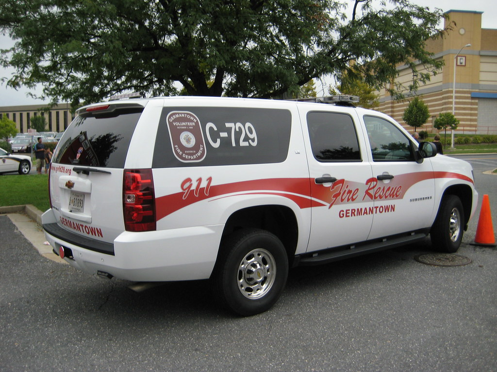 Germantown Volunteer Fire Department Chevrolet Suburban