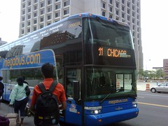 Megabus, whose original Boston-New York fare topped out at $14, now charges
