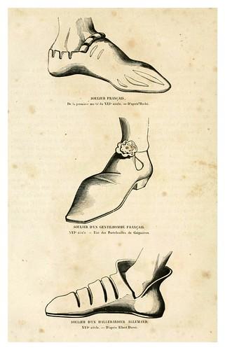 006-Calzado siglo XVI-Histoire de la chaussure depuis l'antiquité-1862- Paul Lacroix y Alphonse Duchesne