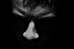 (Juan Ferr Alvarez) Tags: auto shadow portrait people bw white black blanco me face up self dark key close darkness gente expression retrato low negro cara autoretrato sombra human humano humans oscuridad oscuro colombiano expresion colombianos challengeyouwinner peoplke
