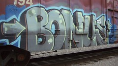 bonus (Making Stuff Blog) Tags: trains bnsf armn boxcarart fr8trains texasgraff texasbenching texasfr8s texasgraffitifreighttrains goldenwestservicefr8s