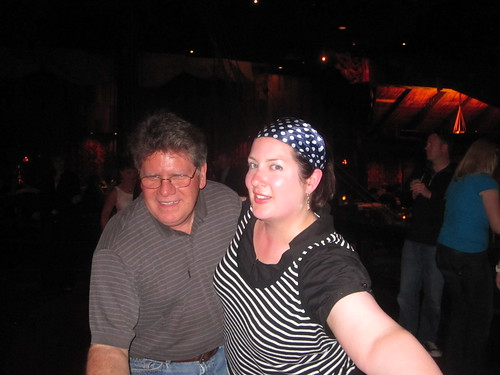 Dancing with Kevin at Tonga Room