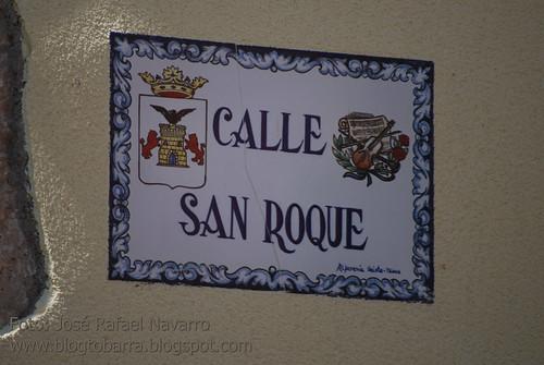 Placas - Calle San Roque