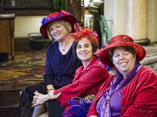 Red Hat Society Rosy Reds