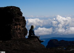 Higher - Monte Roraima (TLMELO) Tags: brasil clouds trekking hiking venezuela hike climbing backpacking backpack nuvens tiago gran monte canaima thiago justdoit ican trilha roraima melo sabana tepui idid impossibleisnothing keepwalking thiagomelo platinumphoto theperfectphotographer tlmelo dotheimpossible
