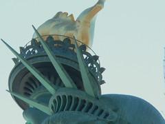 the statue (lensjockey) Tags: nyc newyorkcity france nycpb statue  icon holly gothamist van neoclassical libertyisland thestatueofliberty lensjockey hollyvanvoast fredericbartholdi voast idrathernotputbigwatermarksandcopyrightstuffonmypictures hollyvanvoastlensjockey