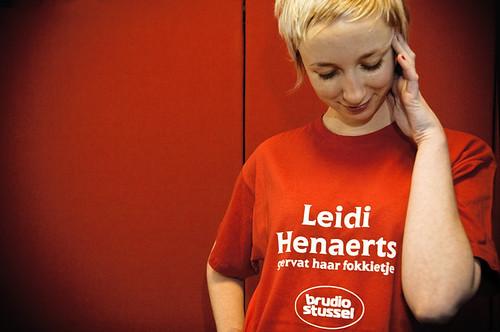 Leidi Henaerts gervat haar fokkietje