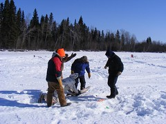 Reed Lake '08 (Lorne Ross) Tags: winter canada icefishing reedlake