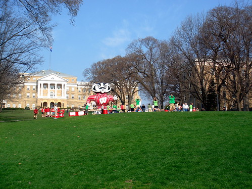 Bascom Mall with Inflatable Bucky