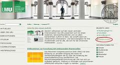 LMU homepage