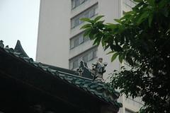 Is that a cross on a temple? (asuka.chan02) Tags: hongkong yaumatei