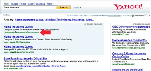 Yahoo Changes Search Ads