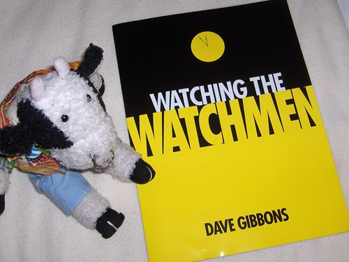 Watching the Watchmen by Dave Gibbons and not at all by Alan Moore