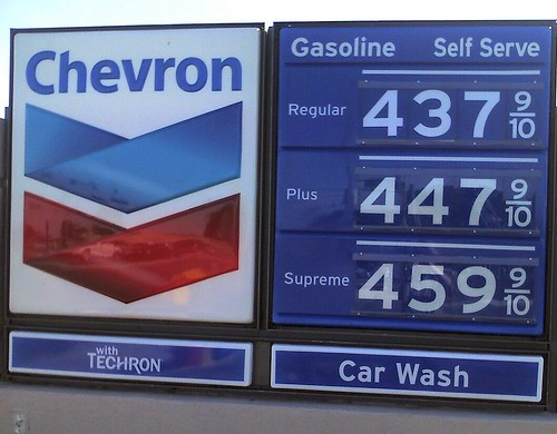 Gas Price 4.37
